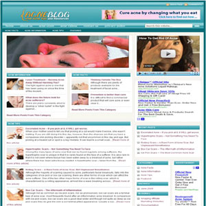 Acne Budget Turnkey Blog - Best Cheap Website Design