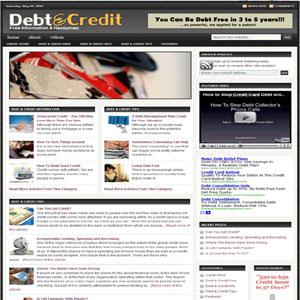 Debt & Credit Budget Turnkey Blog - Best Cheap Website Design