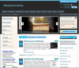 Portfolio: MixxBookmarks