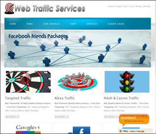 Portfolio: Web-Traffic-Services