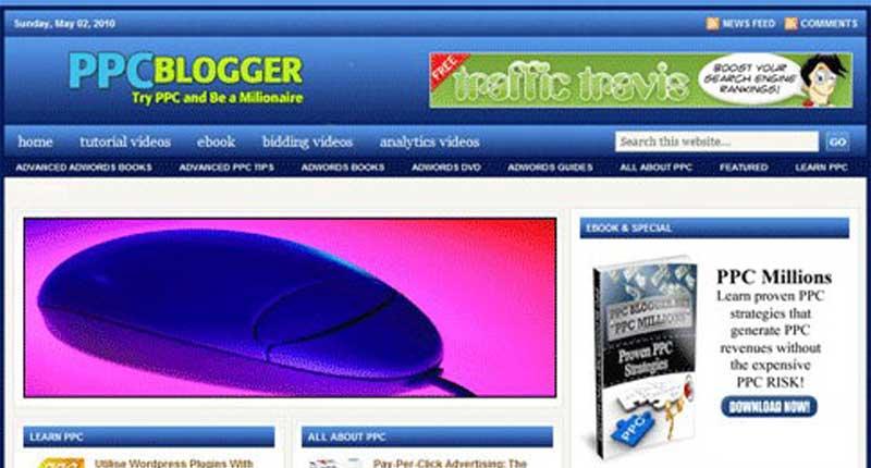 Turnkey Websites - PPC Niche Blog Website