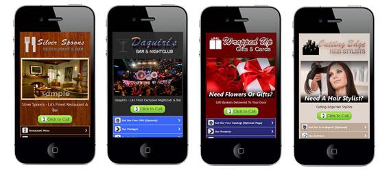 New Designs Added - VIP Mobile Websites