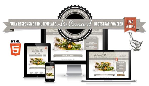 Delimondo-3-in-1 HTML - Le Canard