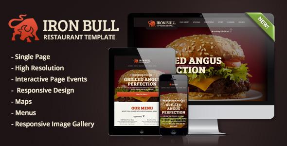 Iron Bull - HTML