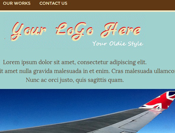 OldieStyle Template 01 (HTML)