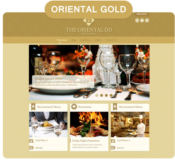 Dine & Drink - Restaurant WordPress Theme