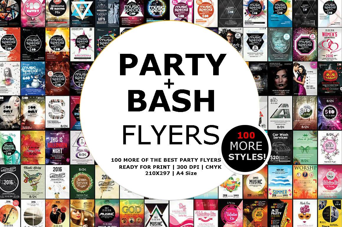 Portfolio - Posters & Flyers Range #2