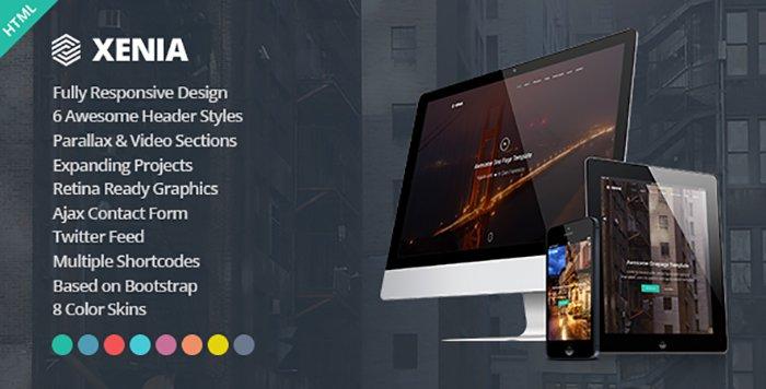 Xenia HTML Templates - HTML Website