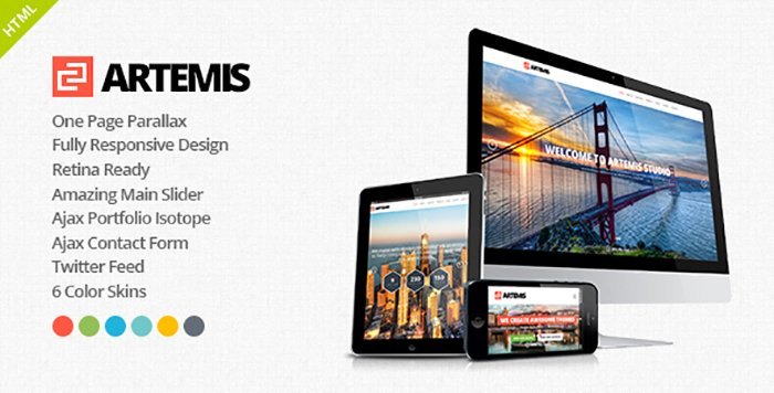 Artemis HTML Templates - HTML Website