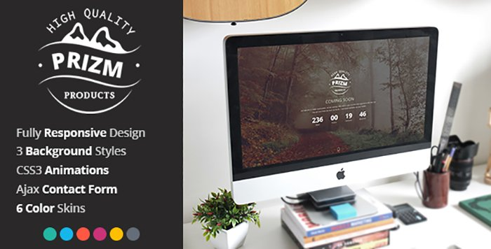 Prism HTML Template - HTML Website