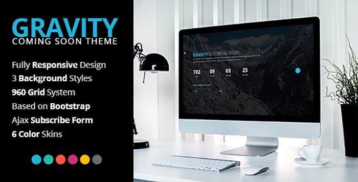 Gravity HTML Template - HTML Website
