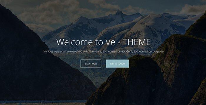 Ve-Theme HTML Templates - HTML Website