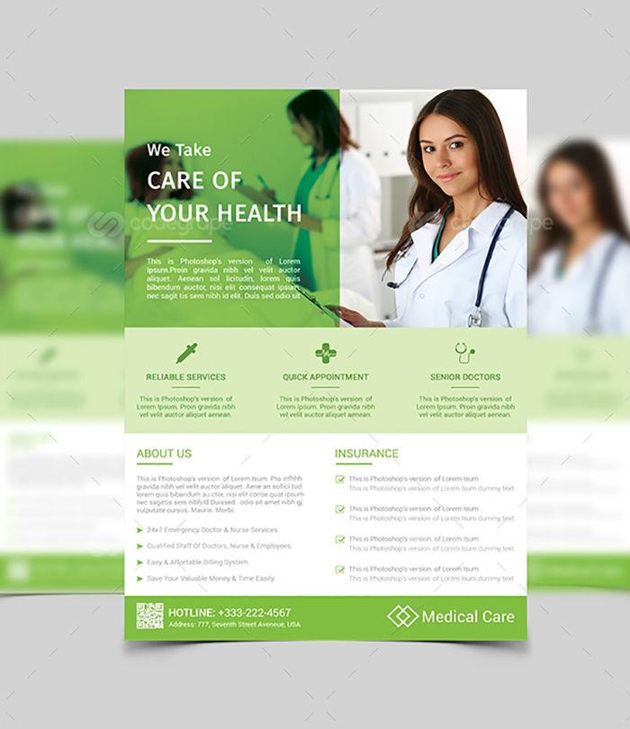 business flyers - medical dental flyer 2