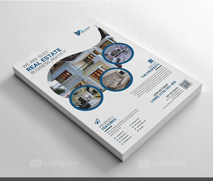 business flyers - real estate flyer 2