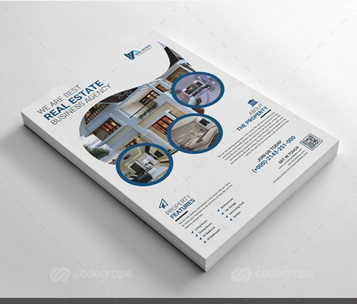 business flyers - real estate flyer 2