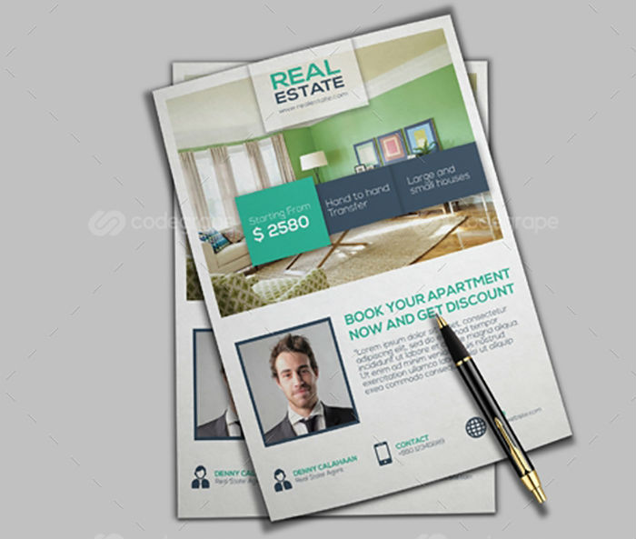 business flyers - real estate flyer 3