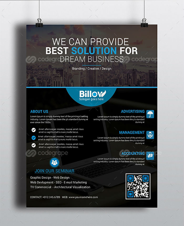 business flyers - business flyer