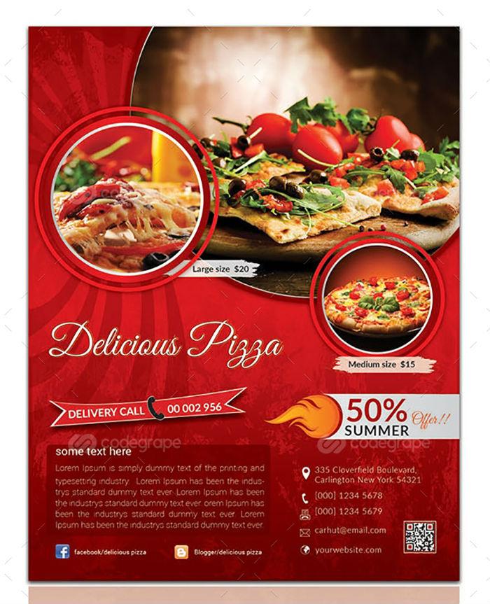 business flyers - food restaurant flyer 2