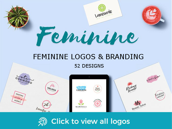 feminine logo designs