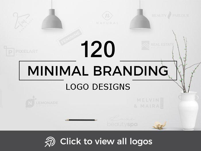minimal branding logo designs