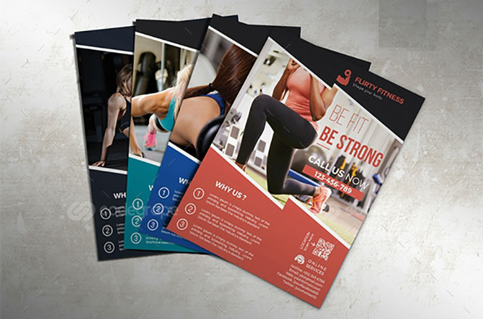business flyers - gym fitness flyer 3