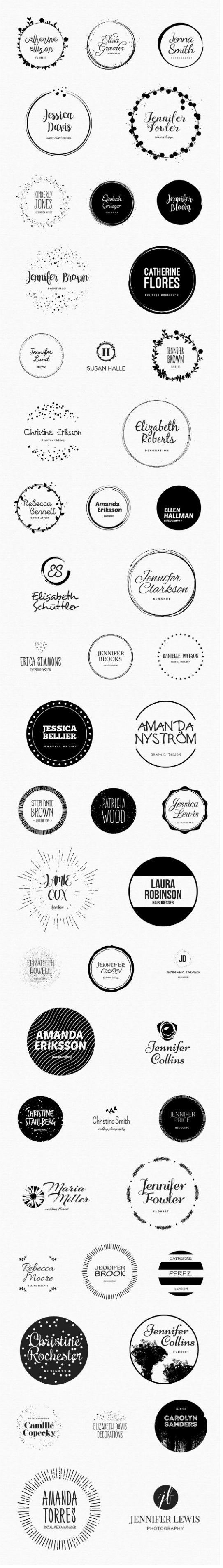 Feminine Deluxe Logo Designs 4