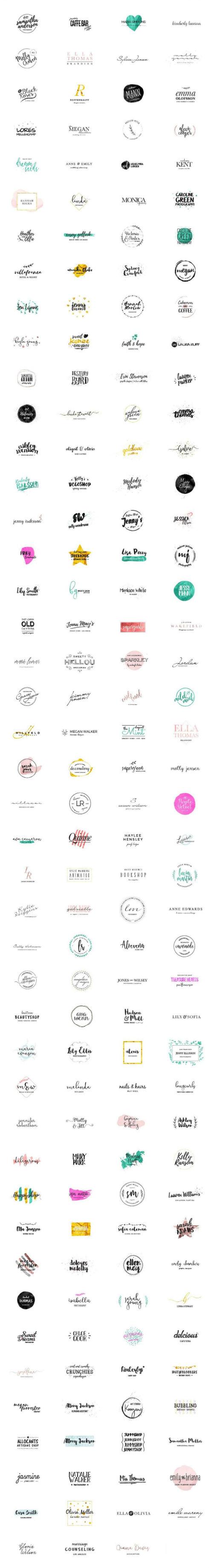 Feminine Deluxe Logo Designs - Girlpreneurs detail