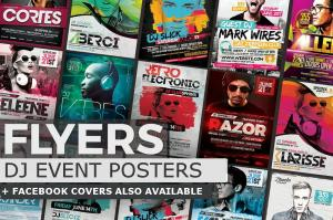 Flyers-Posters-#1-DJ Event