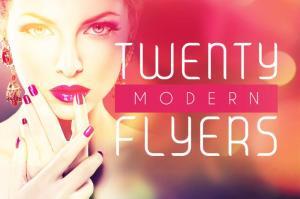 20 Styles - Modern Flyers