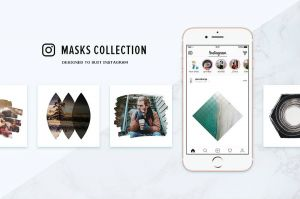InstagramMasksCollection1-Social Media Banners Collection